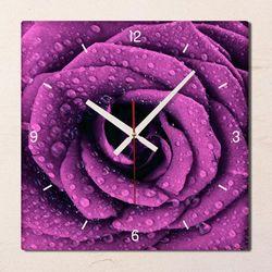 tb006-빈티지플라워아트(바이올렛로즈)인테리어시계