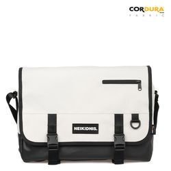 ICON MESSENGER BAG - IVORY