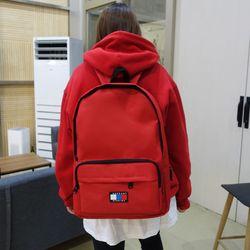 시그니처 베이직 USB 백팩 (red)