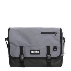 ICON MESSENGER BAG - CHARCOAL