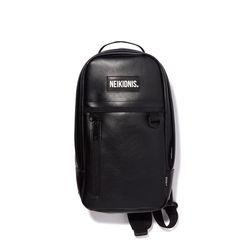 [레더] DAILY SLING BAG- LEATHER BLACK