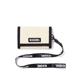 [예약판매 11/6 발송] VELCRO WALLET - LIGHT BEIGE