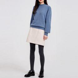 will puff wool knit