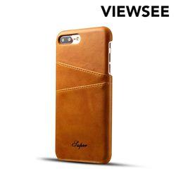 아이폰6/6s 카드지갑 케이스 브라운 iP6-B02