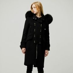 Fox Two Button Coat