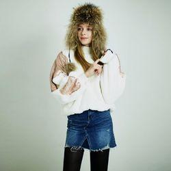 [MAYCATS]Vintage Denim Skirt