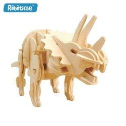 로보타임 애완공룡 걷는 트리케라톱스 D430