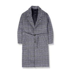 heavy wool single coat-gb