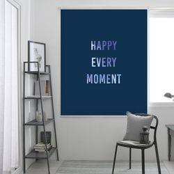 해피모먼트-블루 롤스크린(사이즈선택필수)