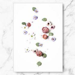 인테리어 그림 선물 플로라 바이브 포스터 중형