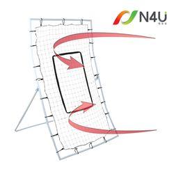 N4U(엔포유)N4U-BR1 야구 리바운드 피치백 네트