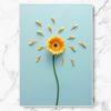인테리어 그림 선물 피틀 민들레 포스터 중형
