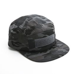 VELCRO CAMP CAP - CAMO GREY