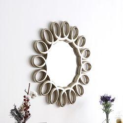 플립 화장대 벽거울