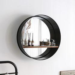 심플 선반 화장대 벽거울