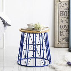 메리 사이드 테이블 스툴 Blue