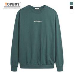 옵틱스 오버핏 맨투맨 티셔츠 (NS483)