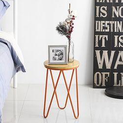 에스 사이드 테이블 Orange