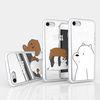 위베어베어스 미러 젤리케이스 아이폰8 7플러스