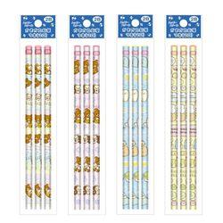 리락쿠마스밋코구라시 3P 연필세트 (2B)