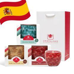 크리스탈리나스 스페인 슬리버 캔들 3종 선물세트