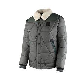 뉴발란스 셔츠 퀼팅 다운 자켓(NBNQ543013KHAKI)카키