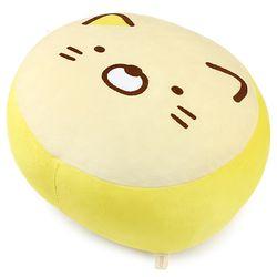 스미코구라시 모찌 민무늬 쿠션-네코(35cm)