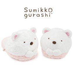 스미코구라시 동물 슬리퍼-시로쿠마