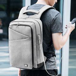 마크라이든 USB충전 스마트 백팩 여행가방 MR0013B