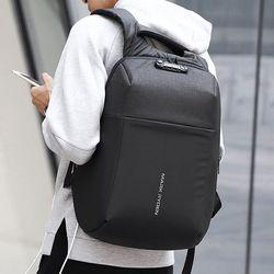 마크라이든 USB충전 스마트 보안 백팩 배낭 여행가방 MR0018B