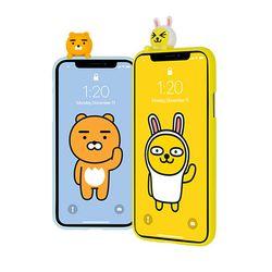 카카오프렌즈 아트 피규어 젤리케이스 LG Q6