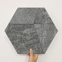 육각 조각시트 스톤 블랙 MP60-1682