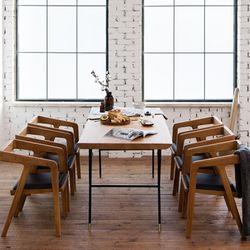 마이 시그니처 뉴요커 테이블 1800 6인 체어세트