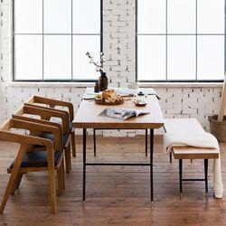 마이 시그니처 뉴요커 테이블 1800 6인 벤치세트