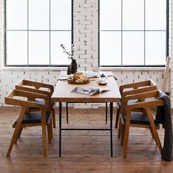 마이 시그니처 뉴요커 테이블 1800 4인 체어세트