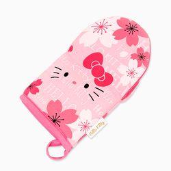 헬로키티 벚꽃 주방장갑