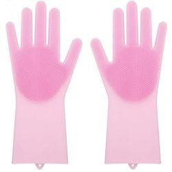 매직싹싹 실리콘 장갑 핑크