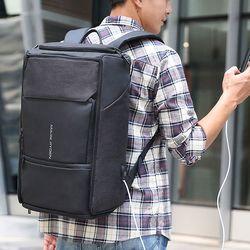 마크라이든 USB충전 스마트 보안 도난방지 백팩 배낭 MR0021B