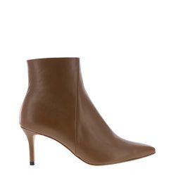Simple detail slim heel ankle(P7651)