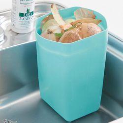 [무료배송] 음식물 쓰레기 실리콘 바스켓 2개 세트 (블루)