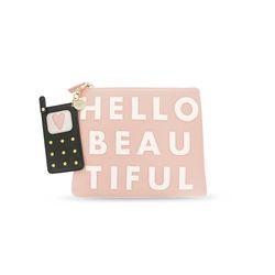 [IPHORIA]COSMETIC BAG-HELLO BEAUTIFUL