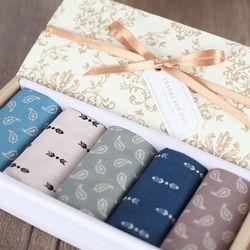 MediumTempo - 아틀란&페니 5종 손수건 선물세트