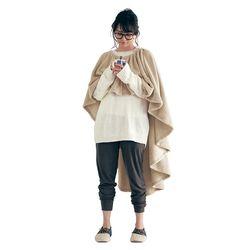 [무료배송] 쿠션이 달려있는 스커트 담요(비스킷)