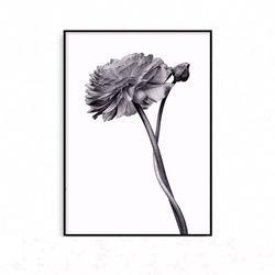 패브릭포스터 꽃그림 식물액자 [중형]