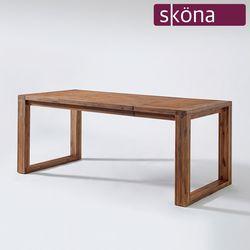 플리시 원목 4인 식탁 테이블