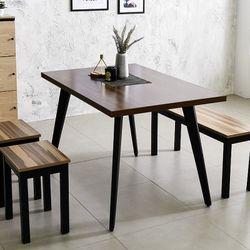 스틸 인더밴 1200식탁 테이블 4인식탁 다용도테이블