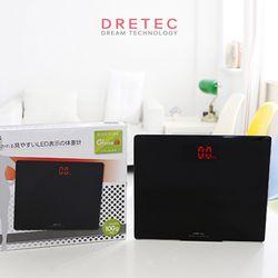 드레텍 디지털 체중계 BS-160BK (블랙)