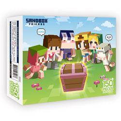 샌드박스프렌즈 직소퍼즐 150조각 보물상자
