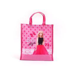 바비 도트 사각 보조가방 핑크