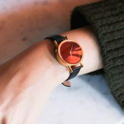 온고지신 옻칠 수제손목시계